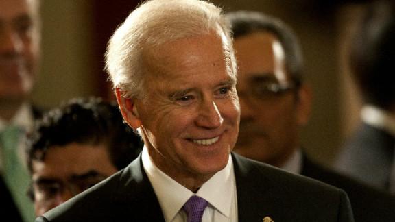 Rebecca Puckwalter-Poza says Vice President Joe Biden was a leader on gun control in the Senate.