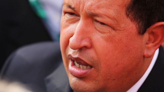 Venezuela's President Hugo Chavez  has not disclosed what type of cancer he has.