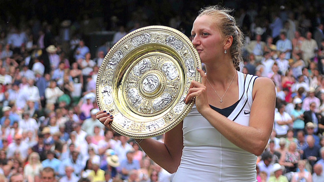 Kvitova: From underdog to world number 8
