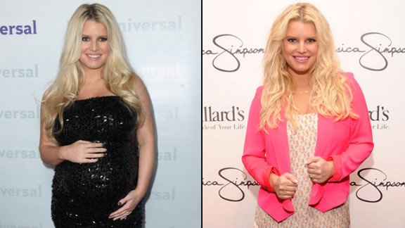 Jessica Simpson has been pretty open about the difficulty she's had shedding the pounds since she gave birth in May. But she celebrates her 50-pound weight loss in a new Weight Watchers commercial while not yet responding to reports that she is once again expecting.