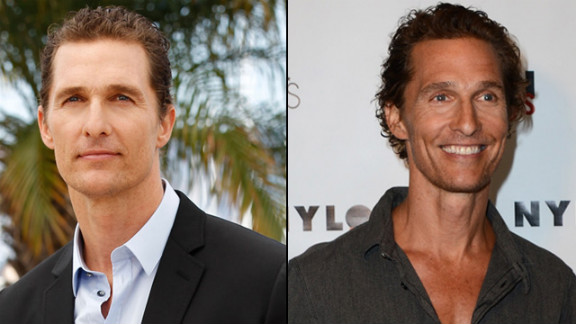 """From thong to thin, McConaughey reportedly dropped 40 pounds for a movie role and the transformation was startling on the """"Magic Mike"""" star."""