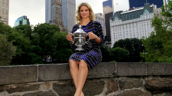 Clijsters defended her Flushing Meadows crown in 2010, avenging her defeat by Russia