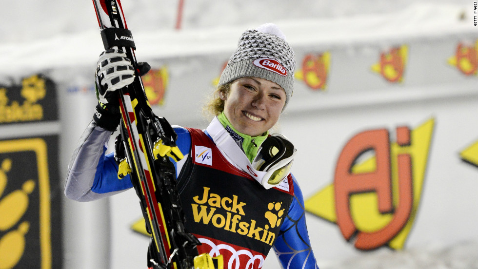 Last season Michaela Shiffrin became the youngest World Cup slalom champion since 1974.