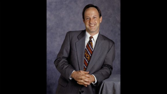 Before being named president of CNN Worldwide in May 2003, Walton, in an undated photo, was president of CNN