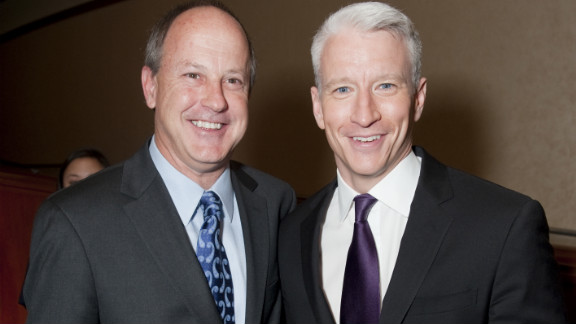 """Anderson Cooper tweeted: """"He is a great guy, and has done tremendous things for CNN. I will miss him very much."""""""