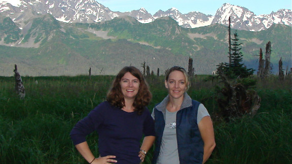 Keely Vanacker (left) and Kerry Cahill
