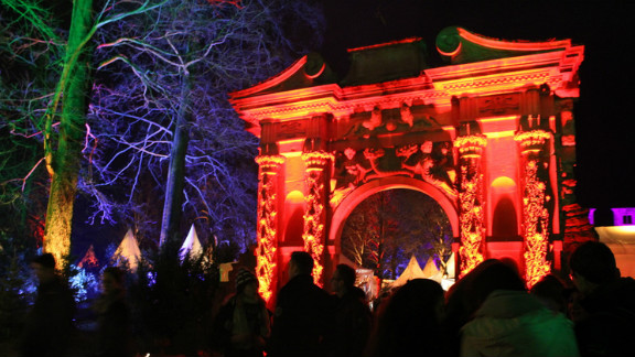 """Prolific iReporter <a href=""""http://ireport.cnn.com/docs/DOC-896866"""">Tracy Bymoen</a> photographed a German Christmas market in Heidelberg, Germany. She says the market's fairytale castle look adds to the holiday spirit, and the area has every Christmas item you could possibly need for the holiday season. """"I visited the castle over the last few days and, despite the 300 plus stairs one must walk to get up to the castle market, it was always bustling,"""" she said."""