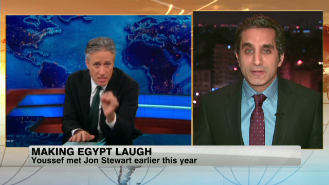 2012: Man brings satire to Egypt TV