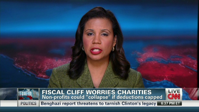 Fiscal cliff deal could hit charities
