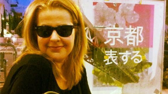 Kira Volvovsky in Jerusalem, 25 years after she arrived in Israel.