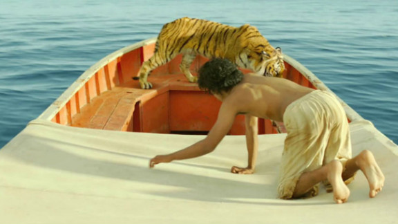 """Ang Lee's film """"Life of Pi,"""" based on the best-selling book, could sneak into the winner's circle."""