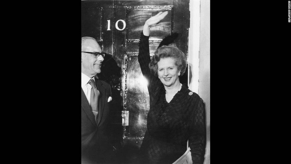 Thatcher secures her second term of office in June 1983. She won a landslide re-election on the heels of the Falklands victory, with her Conservative Party taking a majority of seats in Parliament with 42% of the vote.
