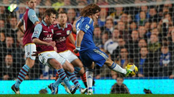 David Luiz doubled Chelsea