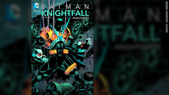"Batman alter ego Bruce Wayne's back was broken by the villainous Bane in 1993's ""Knightfall"" storyline. This led to ""Knightquest,"" in which Jean-Paul Valley took over as the new Batman. Slowly, it became apparent to readers that the unstable Jean-Paul went too far as Batman, at one point letting one of his enemies die. Readers' angry letters were featured in the ""Batman"" comic books at this time. It turned out that readers were never supposed to like Jean-Paul. A rehabilitated Bruce returned in ""KnightsEnd"" and outwitted Jean-Paul into giving up the role of Batman."