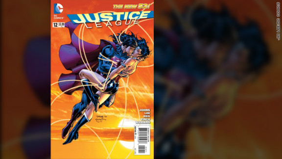 "So much for the famous romance between Superman and Lois Lane. The Man of Steel sought solace in the arms of Wonder Woman starting in 2012's ""Justice League"" No. 12, potentially turning the League on its head. It was just the latest major change after DC Comics (owned by Time Warner, which owns CNN) hit a reset button of sorts a year earlier, relaunching and revising its famous characters in the ""New 52."""