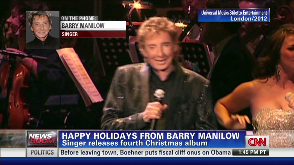 Happy Holidays from Barry Manilow - CNN Video