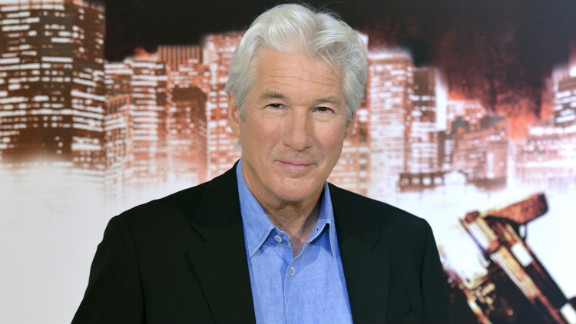 """""""I've never wanted for something and then was able to make it happen. Life doesn't really work like that,"""" Richard Gere told CNN."""