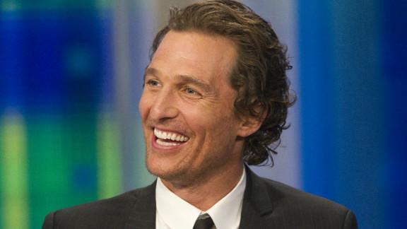 Matthew  McConaughey founded the J.K. Livin Foundation