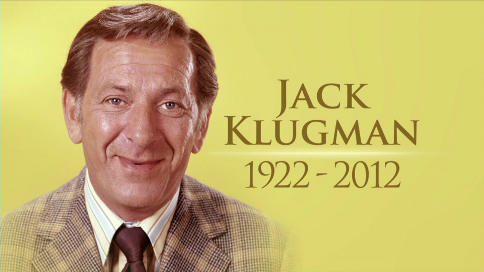 When did jack klugman died