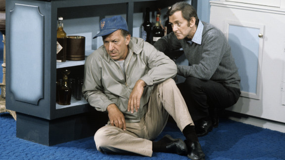 """Jack Klugman, best known as the messy sportswriter Oscar Madison in TV's """"The Odd Couple,"""" died Monday, December 24, his son Adam said. He was 90. Klugman and Tony Randall appear in """"The Odd Couple"""" episode, """"Felix's Wife's Boyfriend"""" on September 24, 1971."""