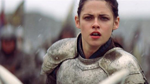 "Kristen Stewart stars as a tough version of the Snow White character in ""Snow White and the Huntsman."""