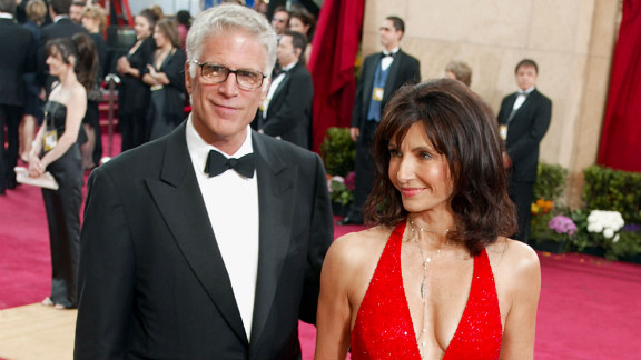 Danson and Steenburgen attend the 75th annual Academy Awards together in 2003.