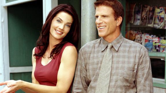 "Danson and actress Terry Farrell starred as Dr. John Becker and Regina ""Reggie"" Kostas, respectively, in CBS' ""Becker."""