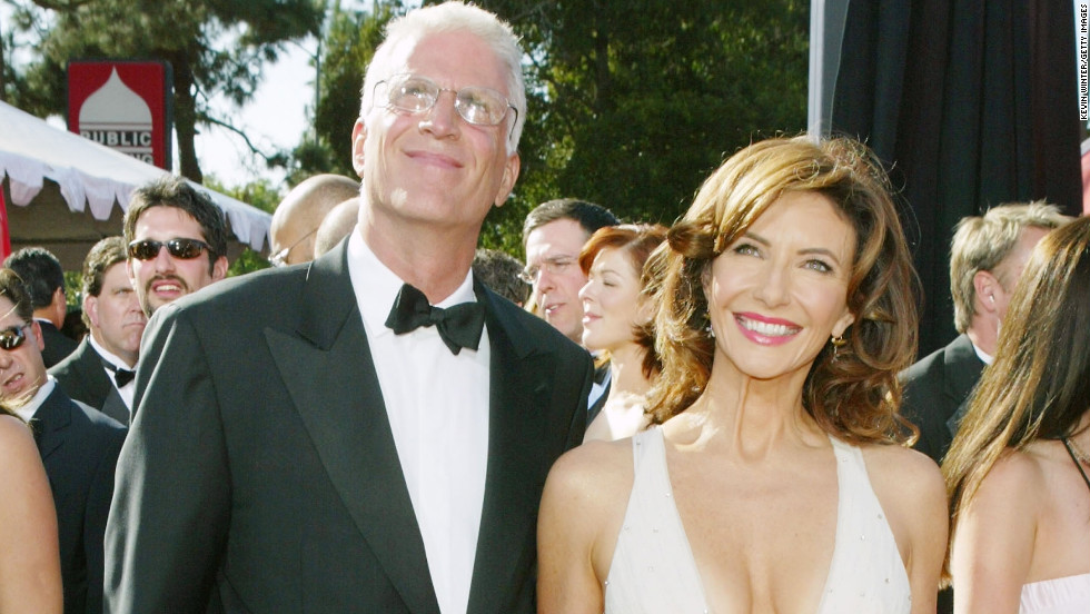 The couple arrives at the Emmy Awards in 2004.
