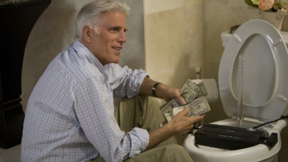 """Ted Danson starred alongside Diane Keaton, Katie Holmes and Queen Latifah in the 2008 comedy """"Mad Money."""""""