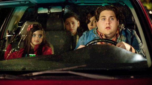 Technically a late 2011 release, David Gordon Green continues his downward spiral in this R-rated stab at a John Hughes comedy, a kind of mis-Adventures in Babysitting starring Jonah Hill and a bunch of whiny obnoxious kids -- including an adoptee who wishes he was back home in El Salvador. Twenty minutes into this mirthless crock you will know just how he feels.