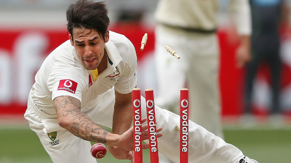 Johnson had earlier run out Dimuth Karunaratne in the same over as the tourists made the worst possible start before losing by an innings and 201 runs.