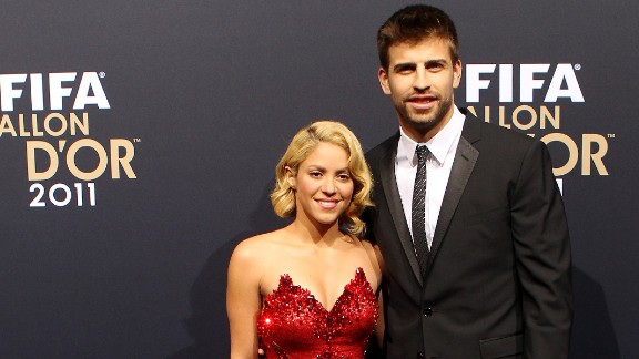Colombian pop star Shakira is perhaps better known internationally than her Spanish football player partner Gerard Pique. The musician gave birth to their first son last year.