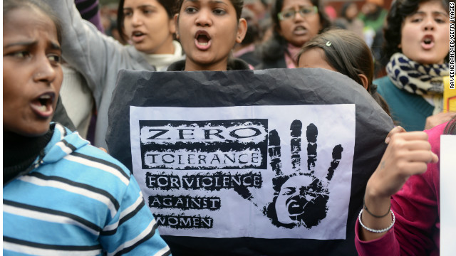 The horiffic gang rape and murder of a 23-year-old student in New Delhi triggered mass protests.