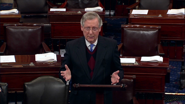 McConnell: We are 'staring at a crisis'