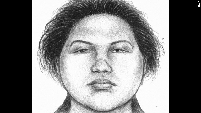 Police released a sketch of the suspect, who they say was wearing a ski jacket and sneakers.
