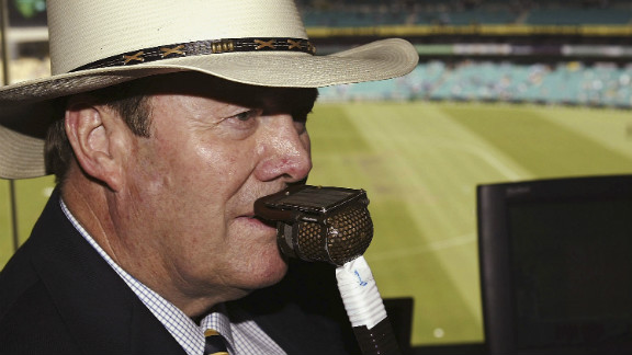 Tony Greig was best known in later years as a cricket commentator for Australia