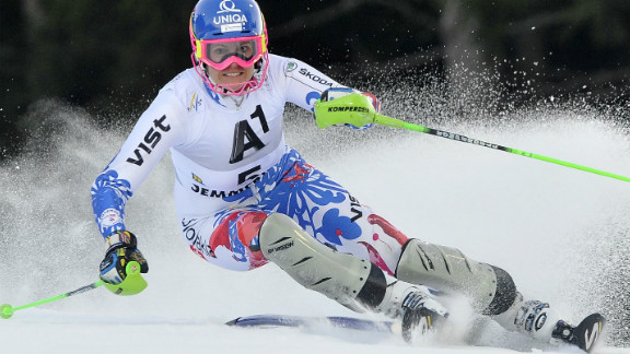 Slovakia's Veronika Velez Zuzulova claimed her first World Cup win with victory in the women's slalom at Semmering in Austria, where Slovenia's Tina Maze extended her overall lead with third place.