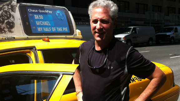 Jack Alvo, once a Wall Streeter, drives a New York City cab six days a week.