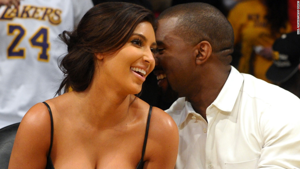 Kim Kardashian and Kanye West are the proud parents of a girl named North. Full name: North West. Yep.