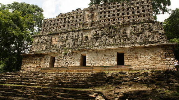 Yaxchilán ruins in Chiapas, Mexico. See the rest of Travel+Leisure