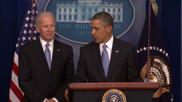 Obama thanks Biden for 'great work'