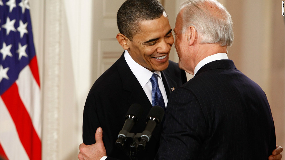 "In 2010, a jubilant Biden leaned into President Barack Obama and said, ""This is a big f***king deal"" before the president signed landmark health care legislation."