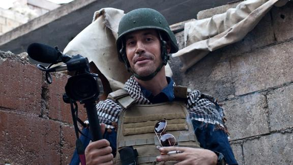 On August 19, 2014, American journalist James Foley was decapitated by ISIS militants in a video posted on YouTube. A month later, they released videos showing the executions of American journalist Steven Sotloff and British aid worker David Haines.