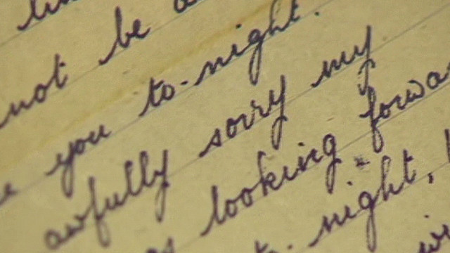 WWII love letters: 'Hard to see you go'