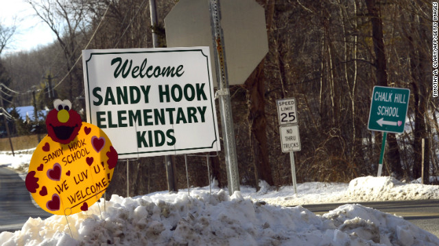 Sandy Hook kids return to school