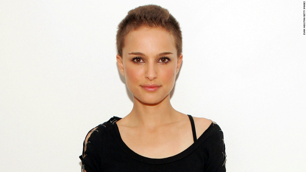 "Natalie Portman was pretty stunning when she lost her locks for a role in ""V for Vendetta"" in 2006. The shaving was done on camera and there was only one chance to get it right. ""That<em> </em>was the most stressful thing about the experience,"" <a href=""http://usatoday30.usatoday.com/life/movies/news/2006-03-14-portman_x.htm"" target=""_blank"">she told USA Today</a>."