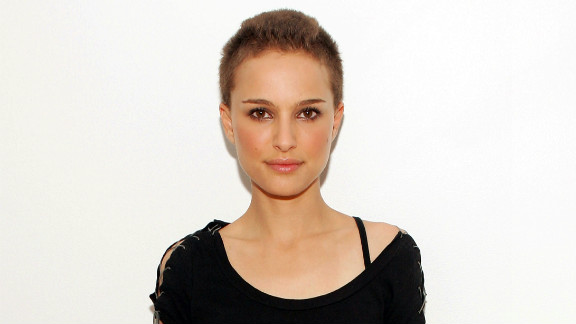 """Natalie Portman was pretty stunning when she lost her locks for a role in """"V for Vendetta"""" in 2006. The shaving was done on camera and there was only one chance to get it right. """"That was the most stressful thing about the experience,"""" she told USA Today."""