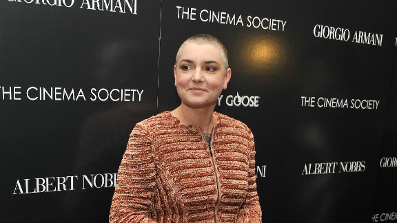 """Sinead O'Connor burst onto the scene in a black turtleneck and buzz cut in the """"Nothing Compares 2 U"""" video. More than 20 years later, she's still rocking the look."""