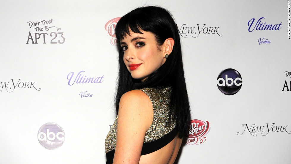 "Krysten Ritter landed the role of Marvel's ""Jessica Jones"" in the Netflix series."