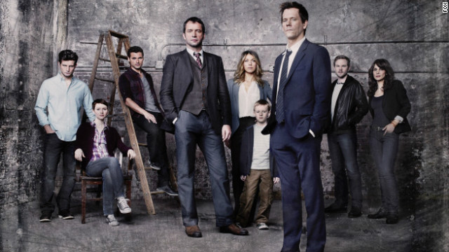 "Fox's new series starring Kevin Bacon, ""The Following,"" is a series to watch in 2013."